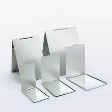 5 Sizes Foldable Ultra-thin Cosmetic Mirror Make Up Folding Rectangle Makeup Decorative 1pcs