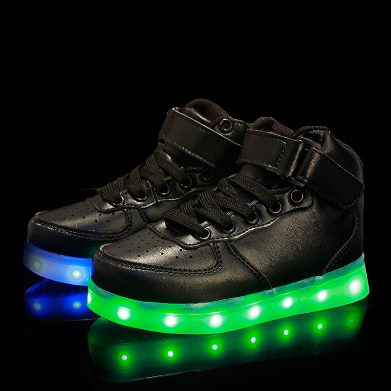 Light Shoes Usb Charge Children Sports S Air Force One On Aliexpress Alibaba Group