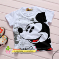 100%cotton children t shirt boy cartoon summer short sleeve T shirt for boy