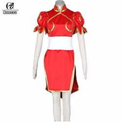 ROLECOS-Brand-New-Japanese-Game-Street-Fighter-Women-Cosplay-Costumes-Color-Red-Chun-Li-Cosplay-Dress