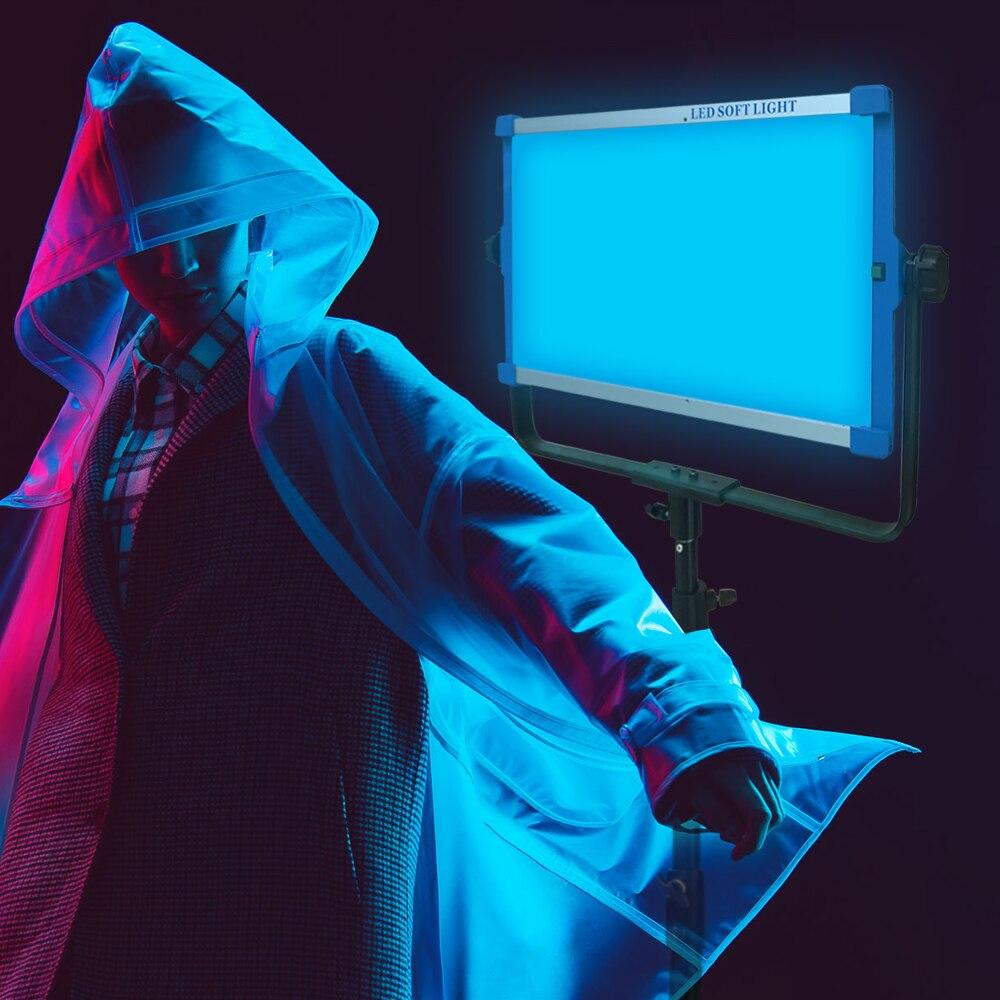 Yidoblo RGB Ha Condotto La Luce di Pannello Video con il Telefono APP 2.4G Telecomando Senza Fili ha condotto la luce per la realizzazione di un film fotografia luce dello studio