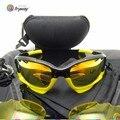 Спорт ЧЕЛЮСТЬ солнцезащитные очки РУБИН Иридиум 3 объектива мотоцикла Участвуя в Гонке Куртка Вентилируемый очки Ciclismo gafas Велоспорт очки