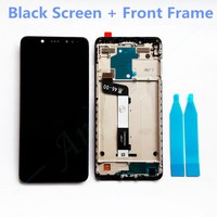 New 2160x1080 LCD Display Screen Assembly LCD Frame For Xiaomi Redmi Note 5 Battery Cover Phone Replacement Of Parts