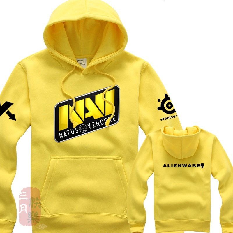 Navi Dota hoodie Dota 2 Natus Vincere heroes long sleeves Dota2 heros Alienware Sweatshirts Gamer hoodies free shipping valve studio orchestra the dota 2 official soundtrack