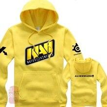 Navi Dota hoodie Dota 2 Natus Vincere heroes long sleeves Dota2 heros Alienware Sweatshirts Gamer hoodies free shipping худи print bar dota heroes nature s prophet