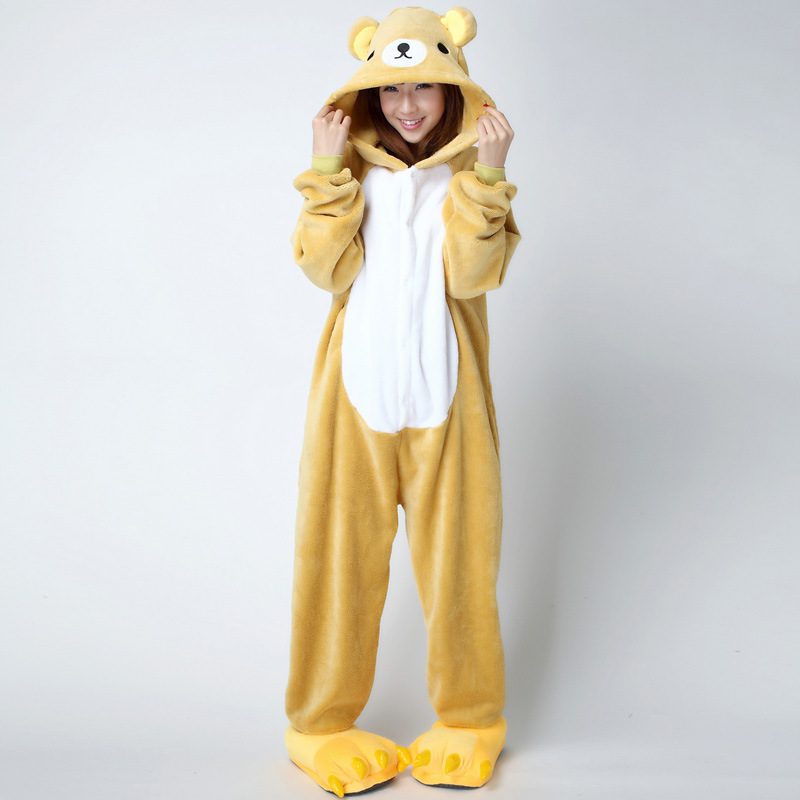 easy bear adult onesie