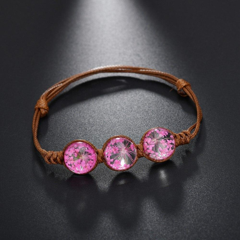 Zodiac Geometric Vintage Womens Bracelets Glass Cabochon Silver Platedcharm Cuff Fashion Jewelry Birthday Gift