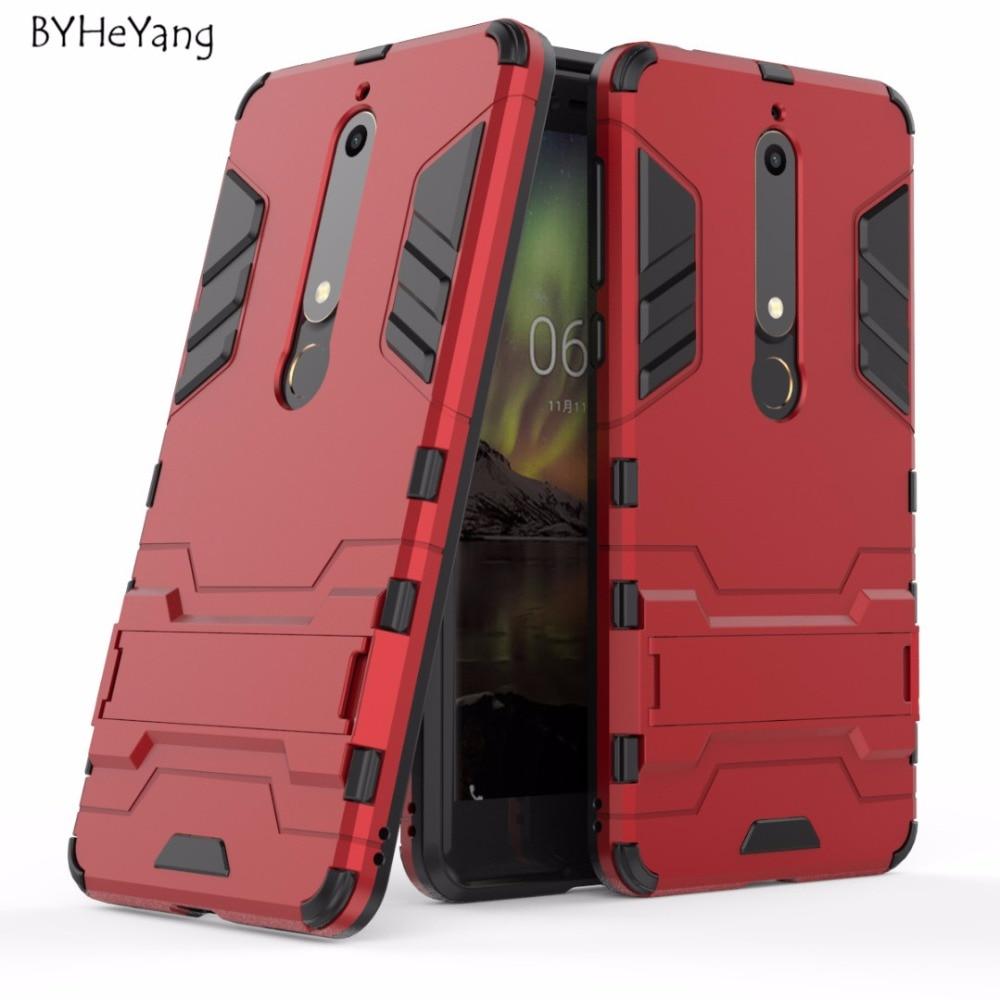 For Nokia 6.1 Case for Nokia 6 2018 Case Silicone +TPU