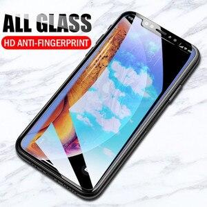 Image 2 - 9H Gehärtetem Glas Für iPhone XS Max XR X 11 Pro Max Schutz Screen Protector Film Schutz Für iPhone 6 6s 7 8 plus 5 5S SE Fall