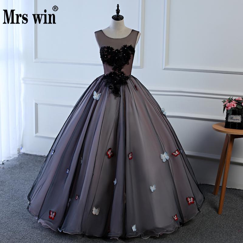 Top Luxury Black Princess Quinceanera Dresses Ball Gown Applique Girls Masquerade Sweet 16 Dress Ball Gowns vestidos de 15 anos
