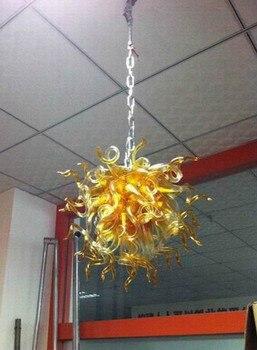โคมไฟ Led คุณภาพสูงสไตล์มือเป่าแก้วโคมระย้าสำหรับขาย