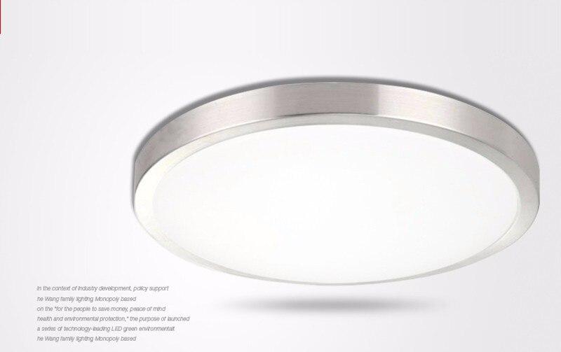 Image 2 - Ceiling lights LED lamp Diameter 21/26cm Acryli panel Aluminum frame edge indoor lighting Bedroom living kitchen LED light 12W-in Ceiling Lights from Lights & Lighting