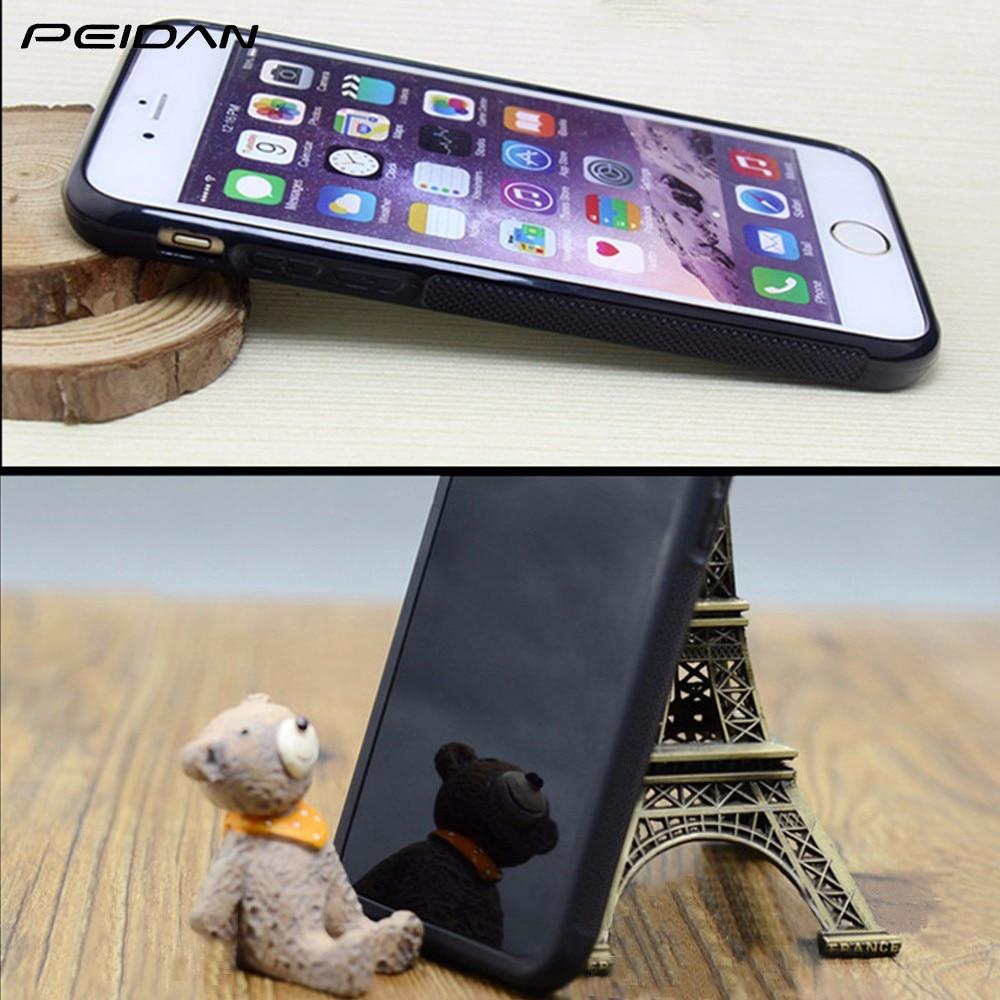 PEIDAN DAFT PUNK Full Protective cover cell phone case for iphone X 4 4s 5 5s 6 6s 7 8 6 plus 6s plus 7 plus 8 plus #qq99