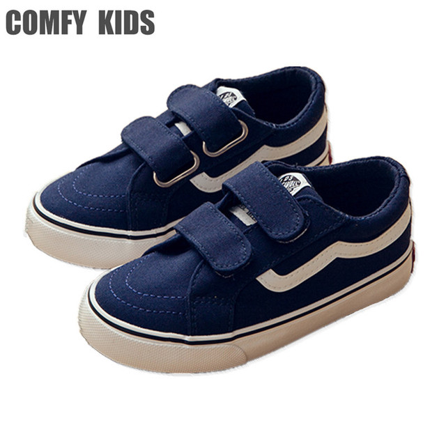 c0f3475869 US $21.5 |COMFY KIDS Canvas Children Shoes Sport Breathable Boys Sneakers  Brand Kids Shoes for Girls Jeans Denim Casual Child Flat Boots -in Sneakers  ...