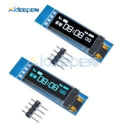 0.91 Inch 128X32 Wit/Blauw Oled Display Module Iic I2C Interface SSD1306 Driver Ic Dc 3.3V 5V Voor Arduino-in Instrument onderdelen & Accessoires van Gereedschap op