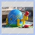 NOVO Gigante 4 m Forma Tartaruga Inflável Castelo inflável para As Crianças/Qualidade Comercial