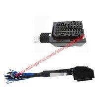 60 Pin EDC17 EDC16 Common Rail ECU Connector Auto Wire Harness Socket For Bosch