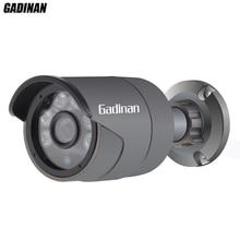 GADINAN IP Caméra H.265 HEVC 2MP 3MP 4MP 2592*1520 25FPS Onvif P2P Extérieure Métal Nuit Vision Caméra de Sécurité 48 V POE en option