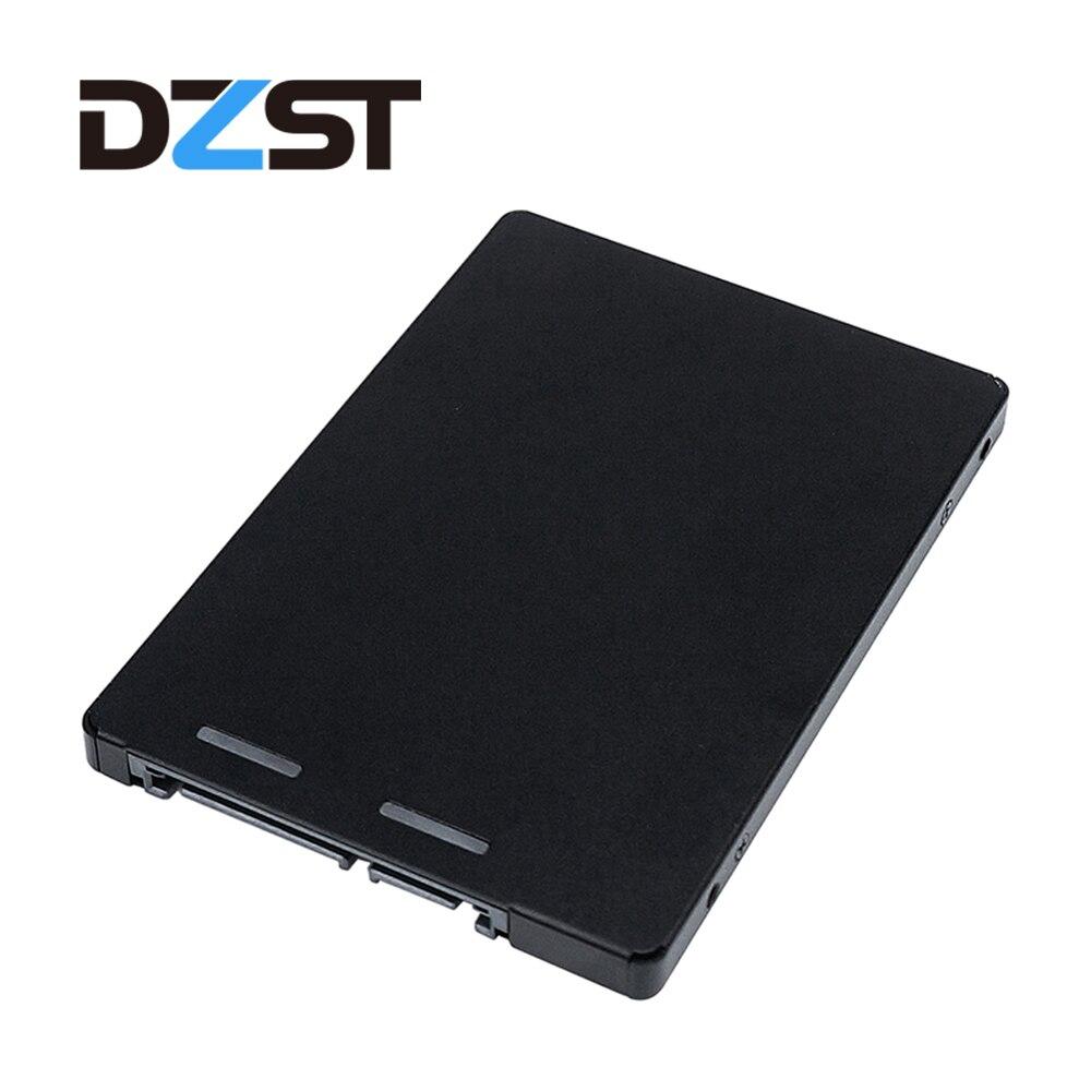 DZLST Portable mSATA to SATA III SSD HDD 2.5''Converter Adapter Enclosure External Box Hard Disk Drive цены