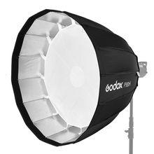 Godox Portable P90h 90CM Deep Parabolic Softbox Bowens Mount Studio Flash Speedlite Reflector Photo Studio Softbox