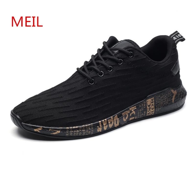 2018 Kevät Kesä Casual Kengät Miesten Air Mesh Fashion Miehen - Miesten kengät