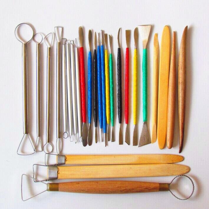 Livraison gratuite en vedette 26 sculptures Outils/outils de sculpture/sculpture en argile outils/sculpté argile/sculpture grattoir 00828