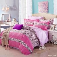 Bedding Set Full Queen Size Bed New 100 Cotton Linen Quilt Duvet Cover Set Pillow Cases