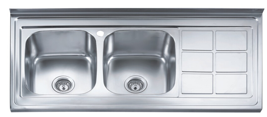 Double Bowl Kitchen Sink Undermount Stainless Steel Sinks Wash Basin In The 1200 600 210mm Cmd S920 From Home