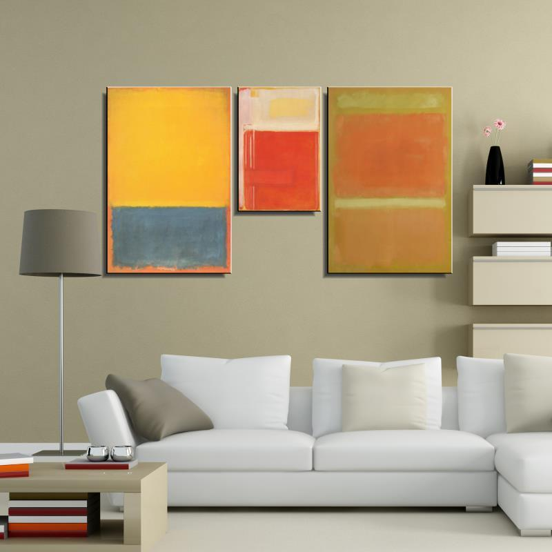 mark rothko abstract american style print frameless unframed oil painting spray canvas waterproof airbrush square design