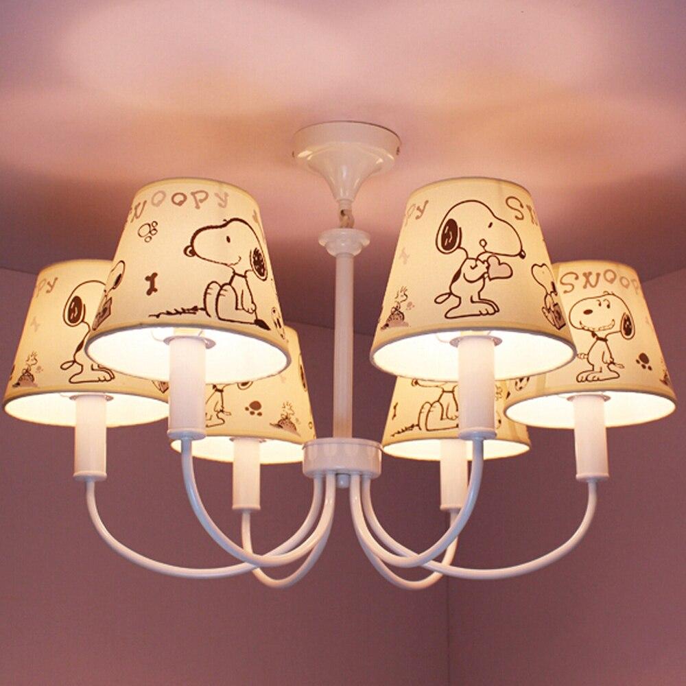 High Quality Suspension Cartoon Led Chandelier Kids Room Led E14 110v 220v Modern Lighting Fixture