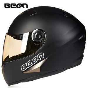 Классический мотоциклетный шлем BEON Four Seans, шлем для картинга, горный велосипед, atv, мотоциклетный головной убор, шлем casco capacete B-500