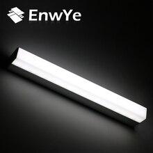 EnwYe Modern LED mirror light 12W 16W 22W waterproof wall lamp fixture AC220V 110V Acrylic wall mounted bathroom lighting BD70