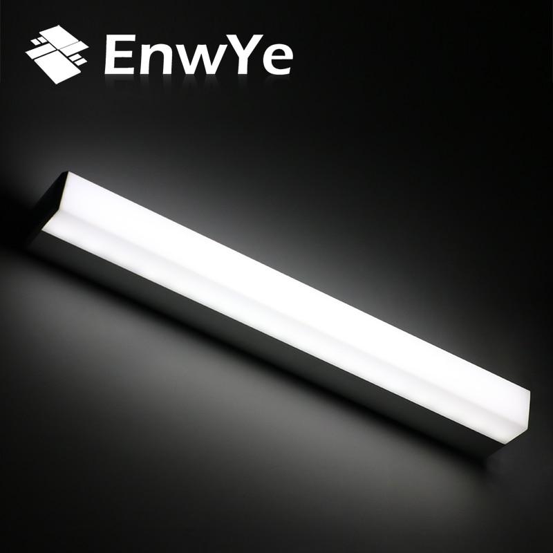 Enwye современные светодиодные зеркало свет 12 Вт 16 Вт 22 Вт водонепроницаемый бра светильник AC220V 110 В акриловые установленный освещения ванной комнаты BD70