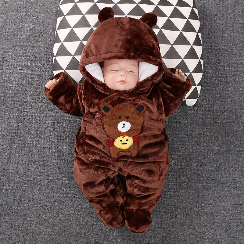 2019 Baby Boy Girls Outwear Cartoon Rompers Baby Boy Suits Kids Jumpsuits Clothing Winter Baby One-pieces Clothes2019 Baby Boy Girls Outwear Cartoon Rompers Baby Boy Suits Kids Jumpsuits Clothing Winter Baby One-pieces Clothes