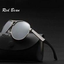 width-145 New brand polarized men sunglasses male retro spring hinge metal pilot driving mirror polarizing eyewear
