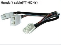ATEMK CD Changer Y Splitter Cable Adapter For Yatour HON2 With Navigation XM DVD 2003 2012