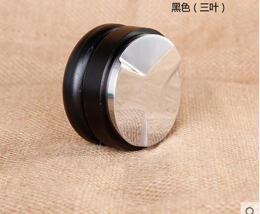 Upgraded 58mm black YHTP12 Coffee smooth tamper screw espresso coffee pressure powder christie a black coffee