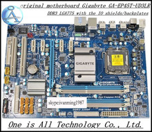 Оригинал материнская плата для gigabyte ga-ep45t-ud3lr p45 платы lga 775 ddr3 atx desktop motherborad ep45t-ud3lr бесплатная доставка