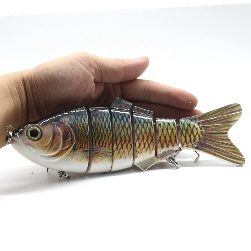 NEW 20cm/110g Jointed Fishing Lure Big Game Saltwater Sea Fishing Lure Wobblers Lure Plastic Lure Isca Artificial Pesca lucky john croco spoon big game mission 24гр 004