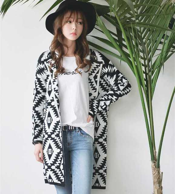 e8ae12c4f New Arrive new 2015 coat womens diamond Plaid knitted Cardigan clothing  size bulky sweater sweaters women 1441790995
