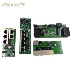 Image 1 - Calidad OEM, mini placa base, precio, módulo de interruptor de 5 puertos, placa PCB de la empresa manufaturer, módulo de interruptores de red ethernet de 5 puertos