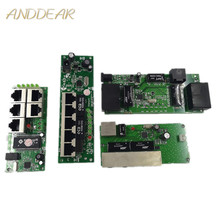 OEM  quality mini Motherboard price 5 port switch module manufaturer company PCB board ports ethernet network switches