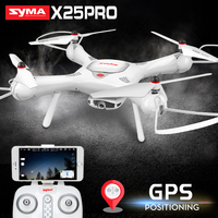 2018 New Arrival SYMA X25PRO Drone With Camera HD Quadrocopter Drone GPS FPV Transmission RC Helicopter Quadcopter Drones Dron