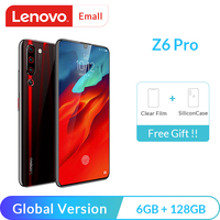 Lenovo Z6 Pro 6GB 8GB 128GB Global Version Snapdragon 855 Octa Core Mobile Phone  48MP Quad Cameras 4K Video Cellphone Lenovo Phones