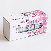 5 Pcs/Box Beautiful Flower washi tape DIY decoration scrapbooking planner masking tape adhesive tape label sticker stationery(China)