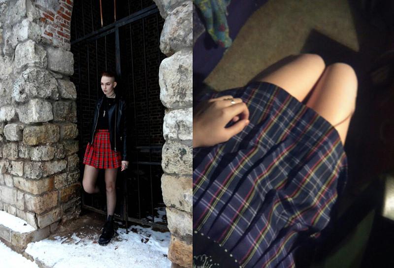 HTB1IS81QpXXXXbQaXXXq6xXFXXX9 - FREE SHIPPING Women Summer high waist pleated skirt  JKP106
