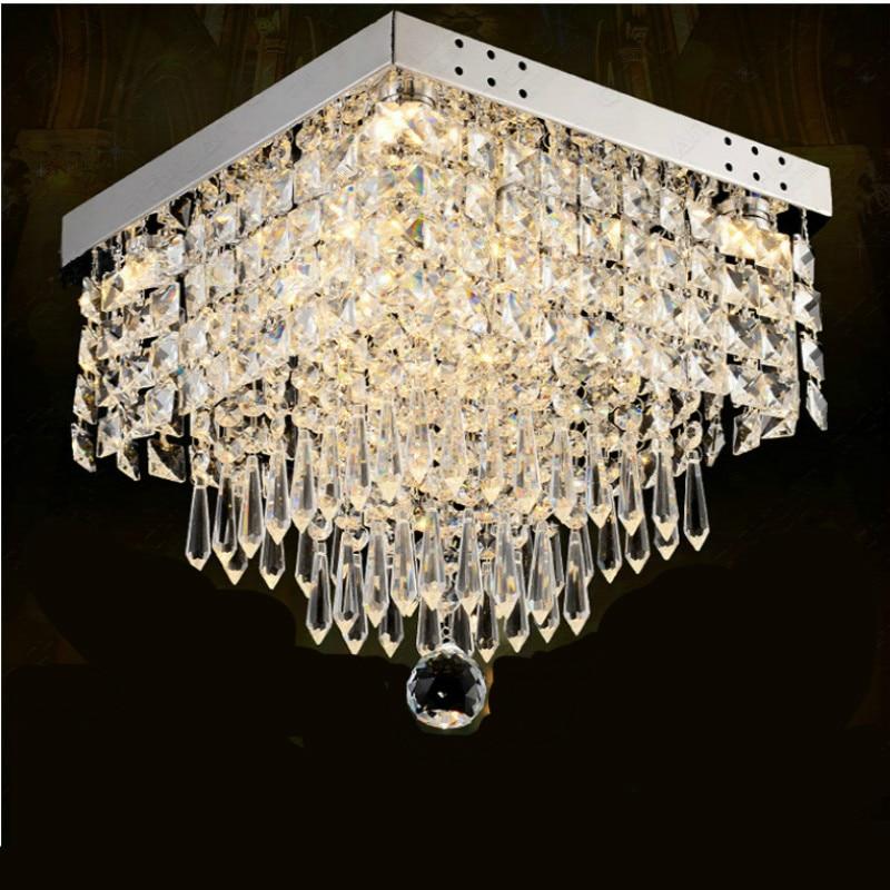 Modern Brief Fashion Luxurious K9 Crystal Led