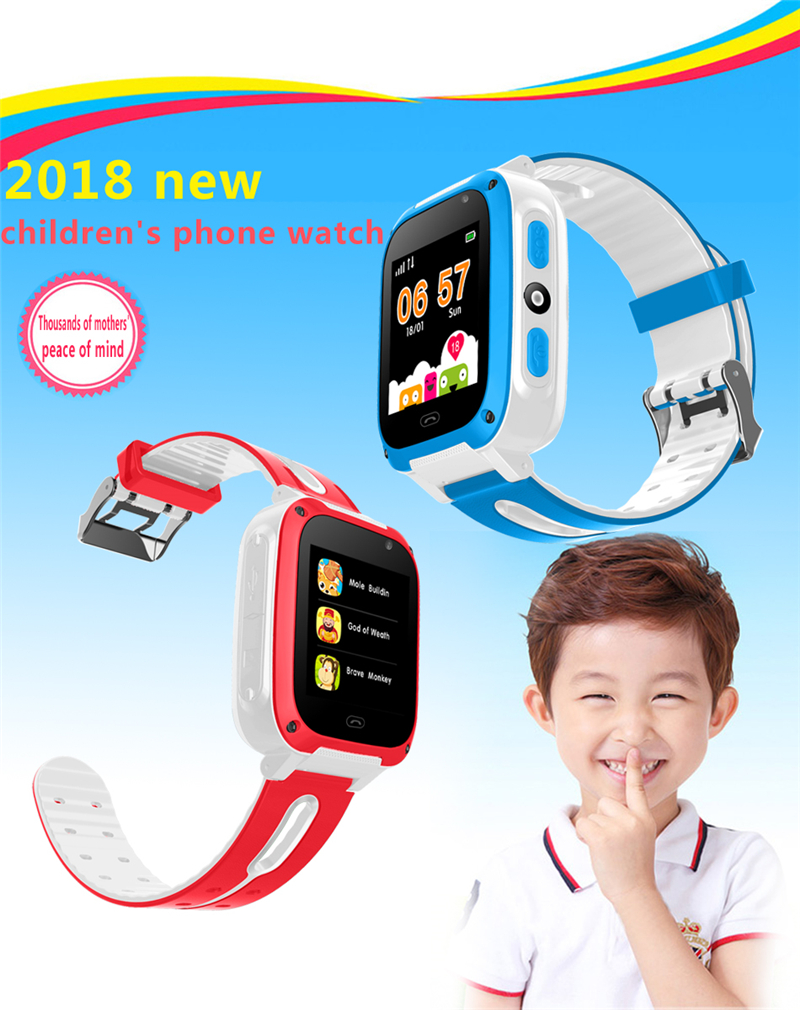 2019 BANGWEI Q50 Anti Lost OLED Child GPS Tracker SOS Smart Monitoring GPS Positioning Phone Kids GPS Baby Watch Compatible IOS in Children 39 s Watches from Watches