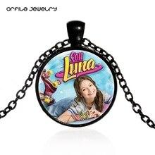 3d1c7d6b8760 ORFILA Soy Luna collar Super Pop cantante Luna Valente colgante cadena  Collar para niñas niños joyería Multicolor