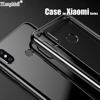 6d3419826 TPU Case for Xiaomi Redmi Note 5 4X 4 3 5a 6 Pro Prime S2 4a 6a Pocophone  F1 mi5s Plus Mi Mix 2s max 3 2 A1 A2 8 lite SE6X Cover